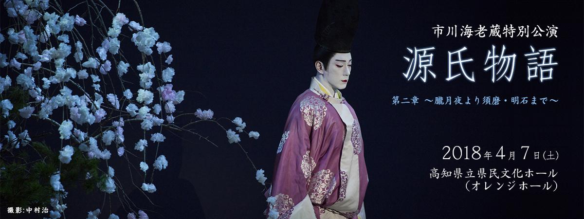 市川海老蔵特別公演 源氏物語